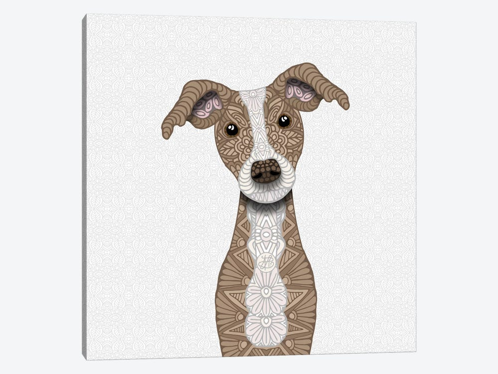 Cute Fawn Iggy by Angelika Parker 1-piece Art Print