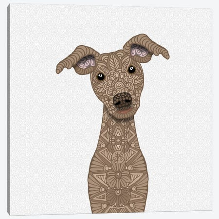 Fawn Iggy Canvas Print #ANG152} by Angelika Parker Canvas Wall Art