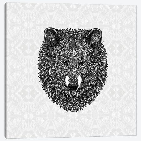 Gray Wolf Canvas Print #ANG155} by Angelika Parker Canvas Print