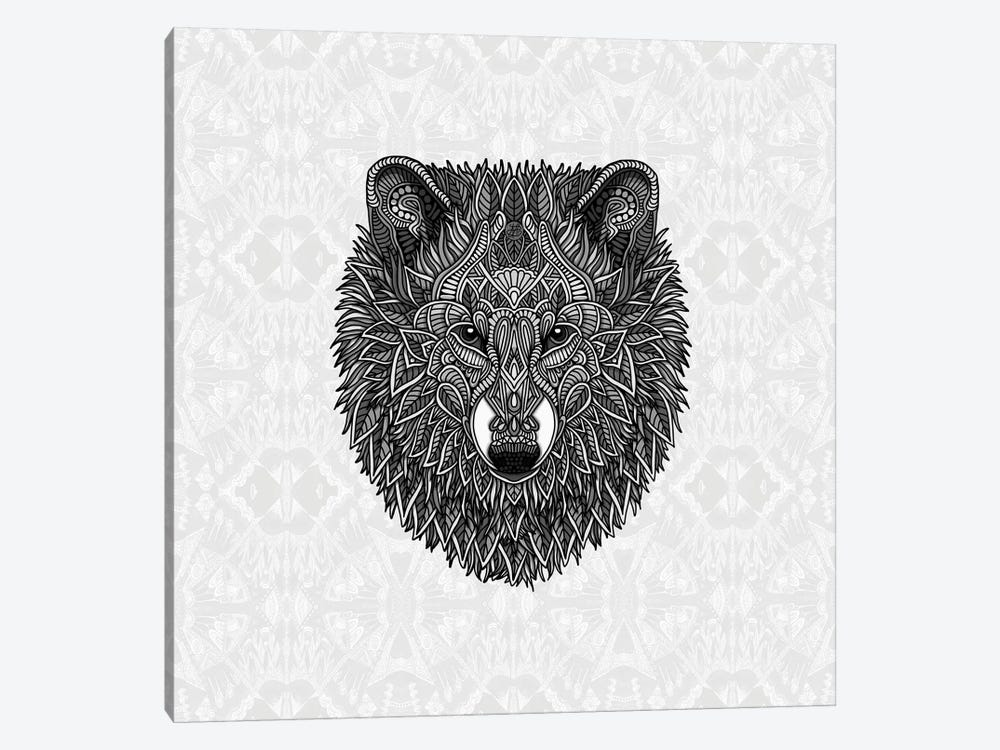 Gray Wolf by Angelika Parker 1-piece Canvas Artwork