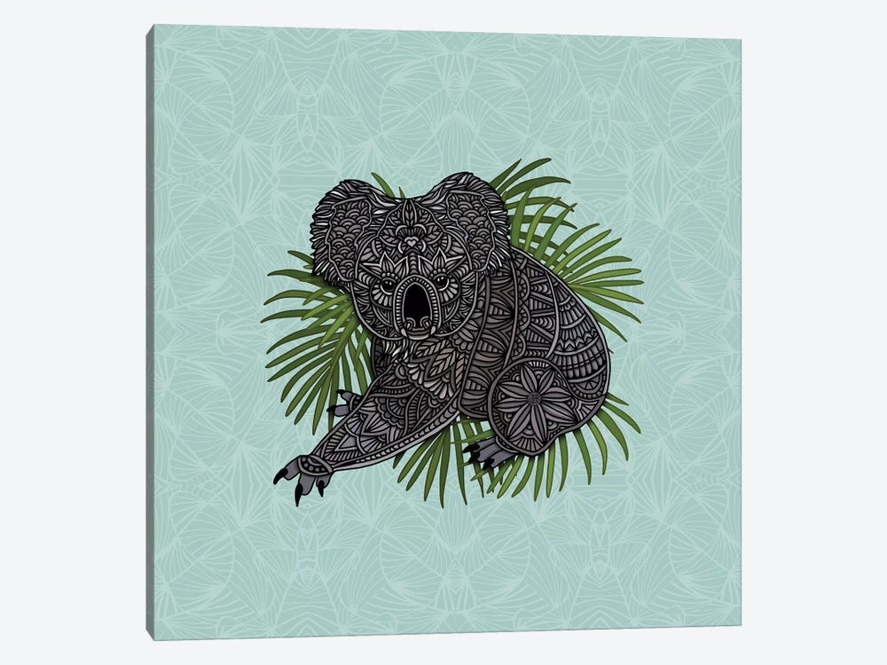Happy Koala by Angelika Parker 1-piece Canvas Art Print