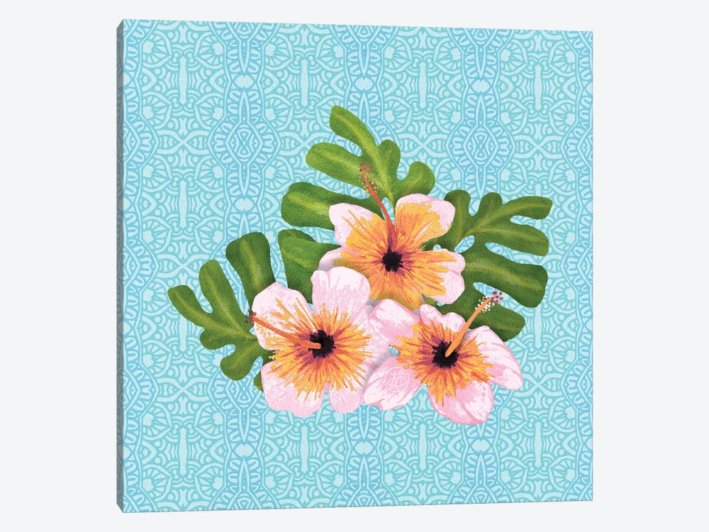 Hibiscus by Angelika Parker 1-piece Canvas Art
