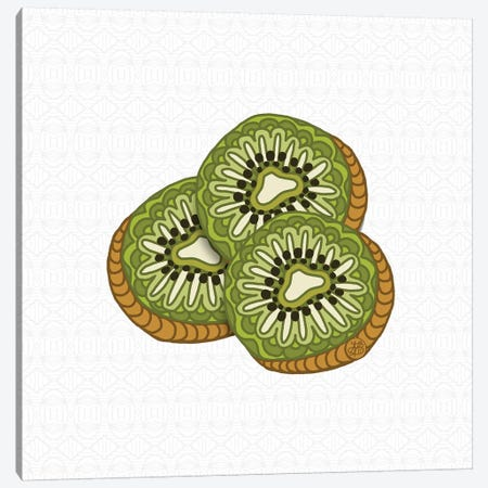 Kiwis Canvas Print #ANG161} by Angelika Parker Canvas Art Print