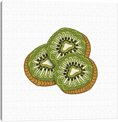 Kiwis Canvas Art Print