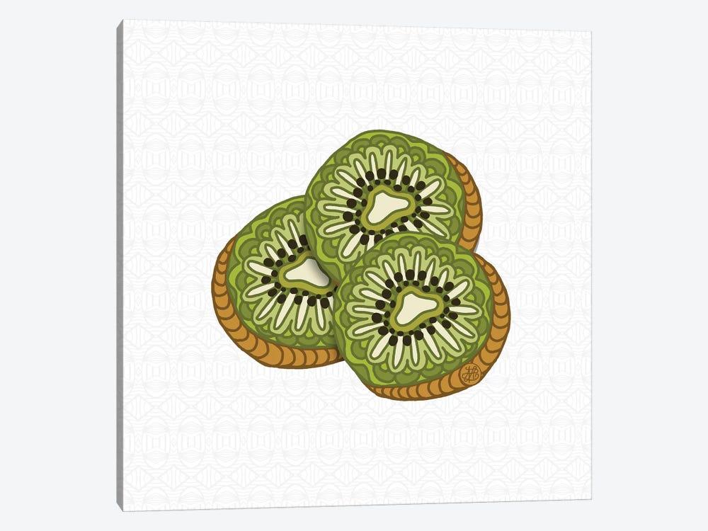 Kiwis by Angelika Parker 1-piece Canvas Art Print