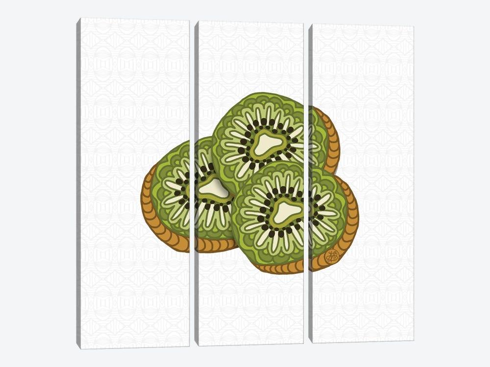 Kiwis by Angelika Parker 3-piece Canvas Art Print
