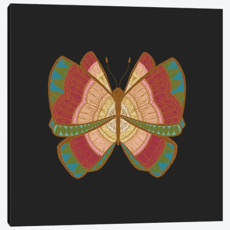 Moth Canvas Print #ANG164} by Angelika Parker Canvas Wall Art
