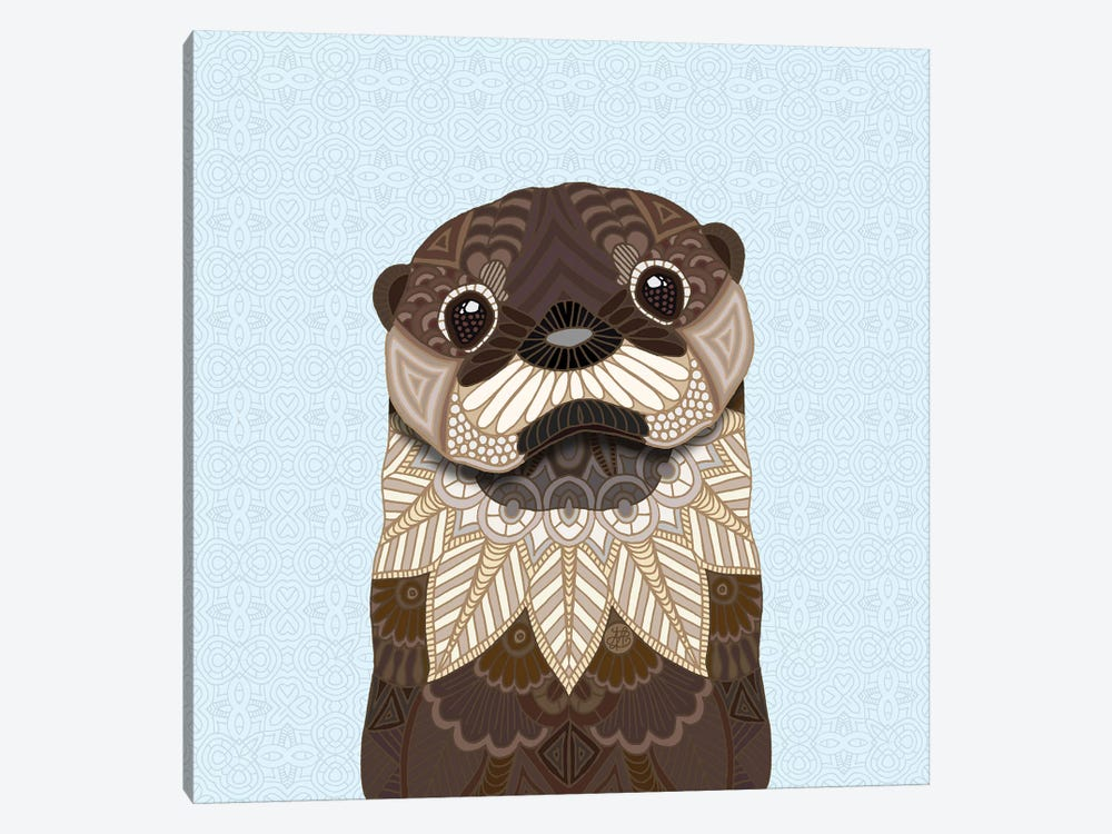 Otterly Cute by Angelika Parker 1-piece Canvas Art