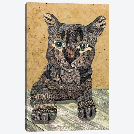 Cat Canvas Print #ANG16} by Angelika Parker Canvas Print