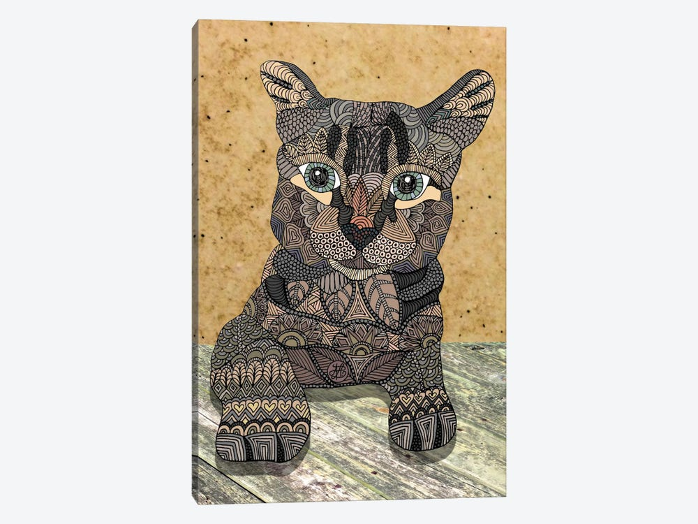 Cat by Angelika Parker 1-piece Canvas Art Print