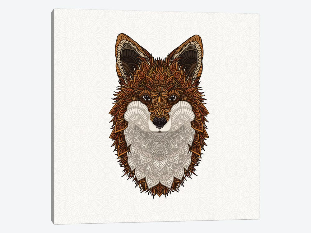Red Fox by Angelika Parker 1-piece Canvas Print