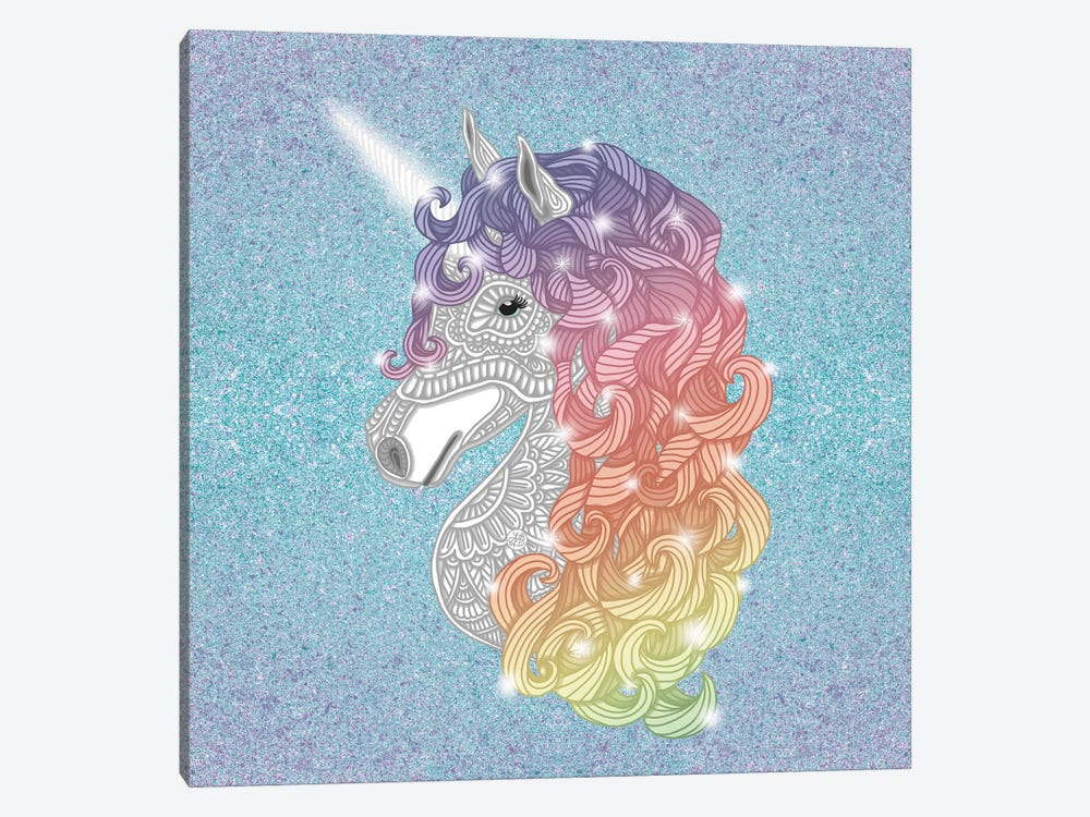 Unicorn by Angelika Parker 1-piece Canvas Artwork