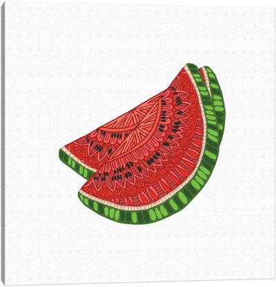 Watermelon Canvas Art Print