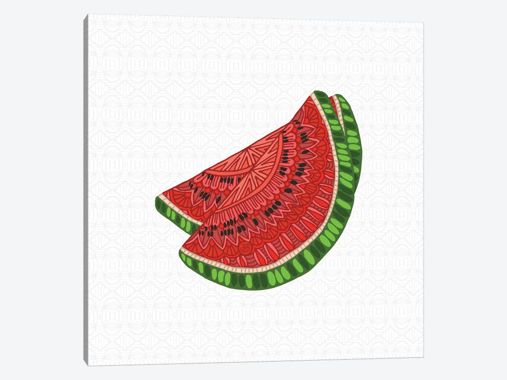 Watermelon by Angelika Parker 1-piece Canvas Print