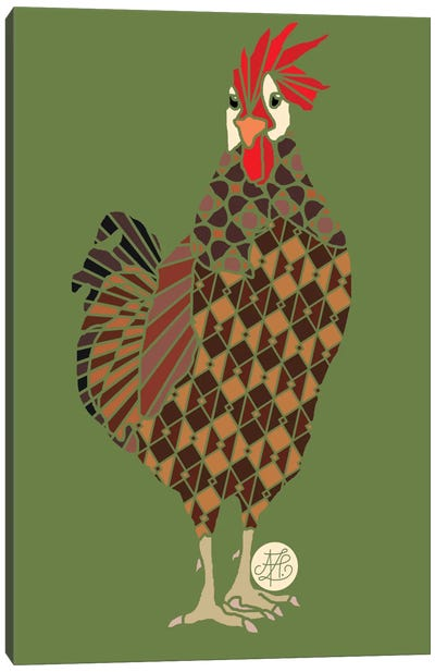 Chicken Canvas Art Print