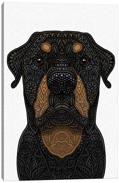 Rottweiler Canvas Art Print
