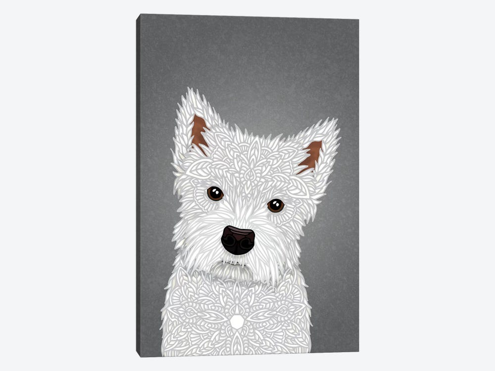 West Highland Terrier by Angelika Parker 1-piece Canvas Art