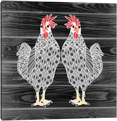 Chicks Canvas Art Print