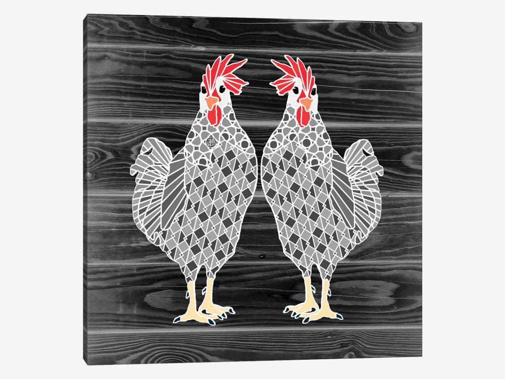 Chicks by Angelika Parker 1-piece Canvas Wall Art