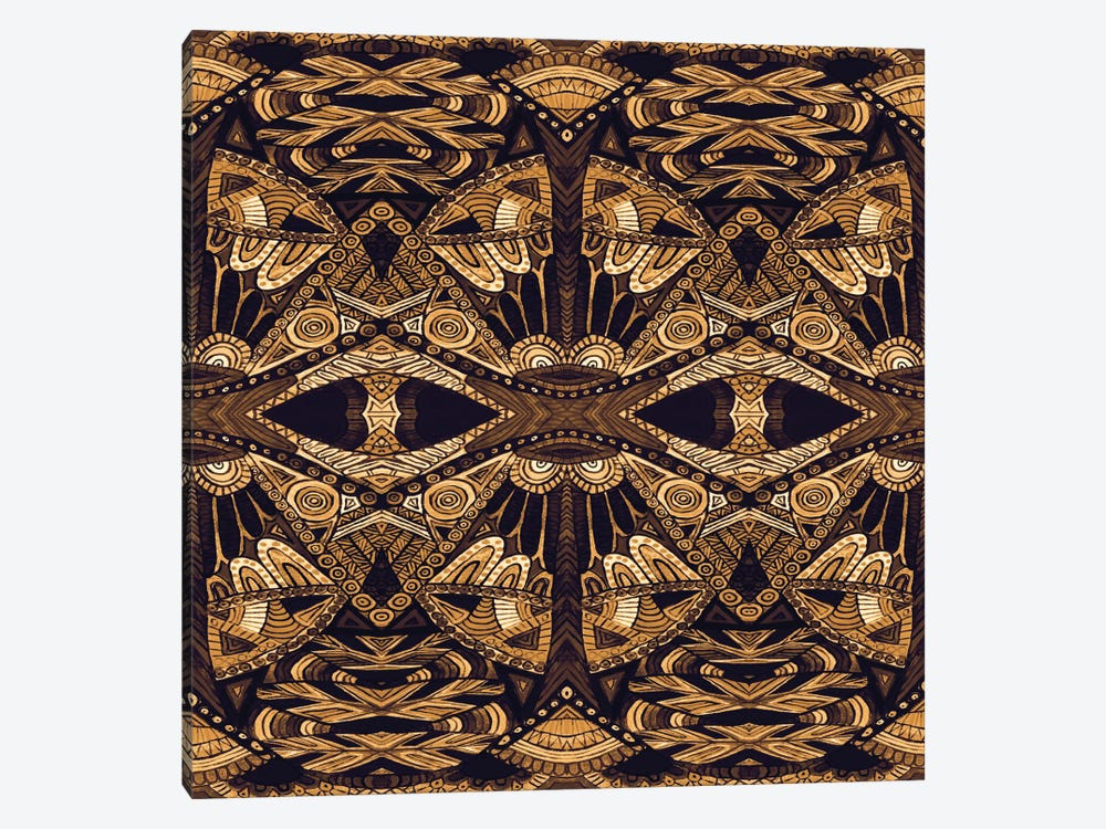 Art Deco Gold by Angelika Parker 1-piece Canvas Art