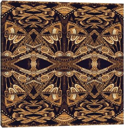 Art Deco Gold Canvas Art Print