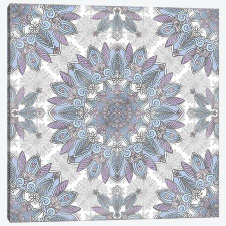 Violet Mandala Canvas Print #ANG203} by Angelika Parker Canvas Artwork