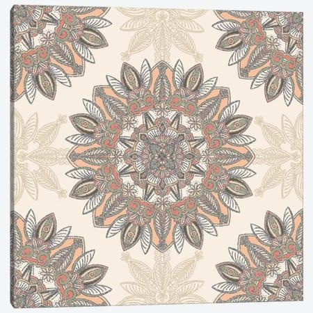 Fall Mandala Canvas Print #ANG204} by Angelika Parker Canvas Print