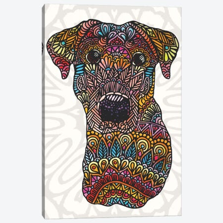 Colorful Roxy Canvas Print #ANG20} by Angelika Parker Canvas Art Print