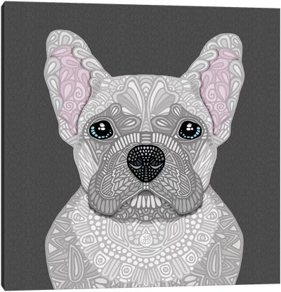 Cream Frenchie by Angelika Parker Canvas Art Print