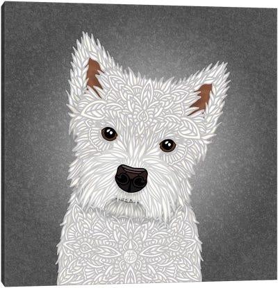 West Highland Terrier Canvas Art Print
