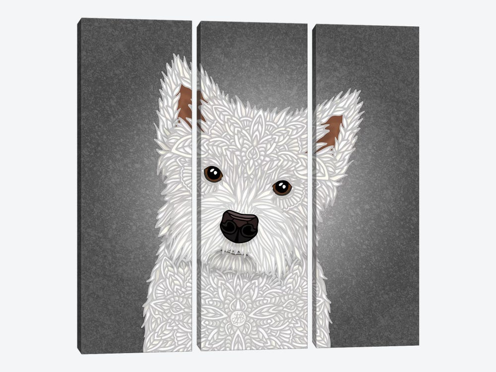 West Highland Terrier by Angelika Parker 3-piece Art Print