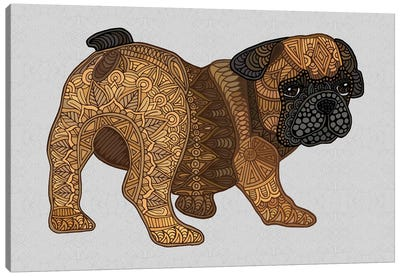 Chops - Frenchie Puppy Canvas Art Print