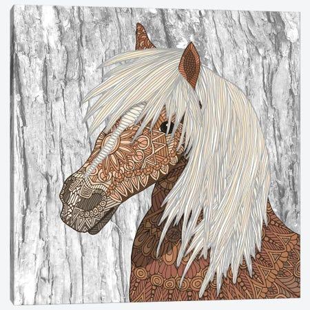 Nickerson - Haflinger Horse Canvas Print #ANG229} by Angelika Parker Canvas Wall Art