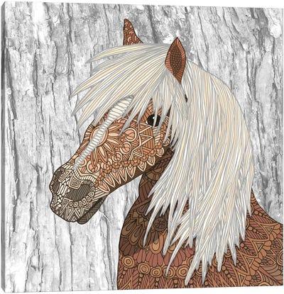 Nickerson - Haflinger Horse Canvas Art Print