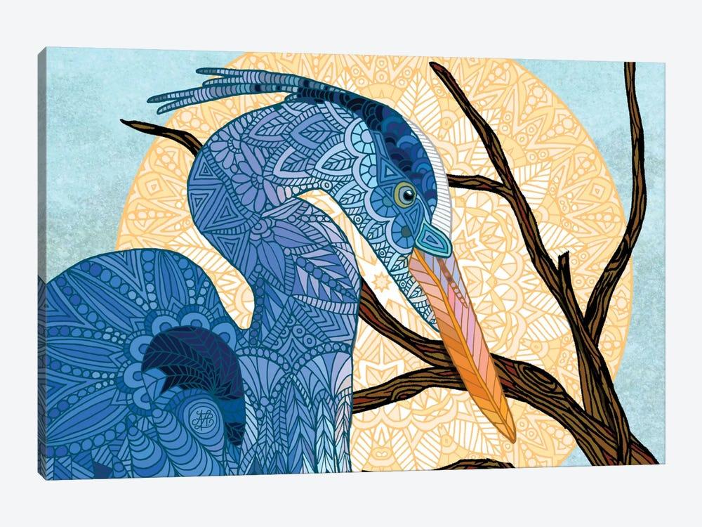 Egret Sun by Angelika Parker 1-piece Canvas Wall Art
