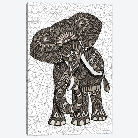 Elephant Canvas Print #ANG25} by Angelika Parker Canvas Art