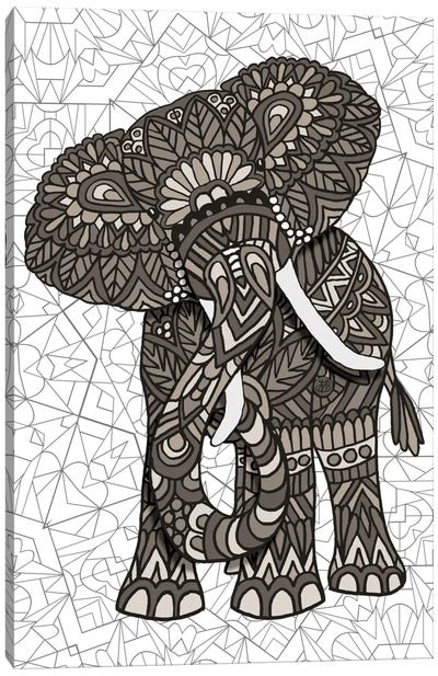 Elephant Canvas Print #ANG25