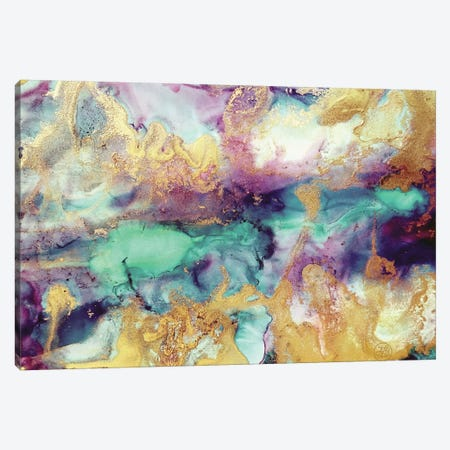 Liquid Gold Canvas Print #ANG262} by Angelika Parker Canvas Artwork