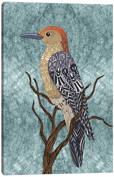 Woodpecker Bird Canvas Art Print