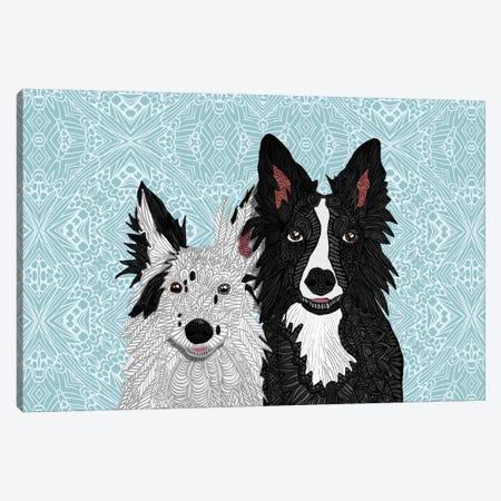 Envy & Zain Canvas Print #ANG26} by Angelika Parker Canvas Wall Art