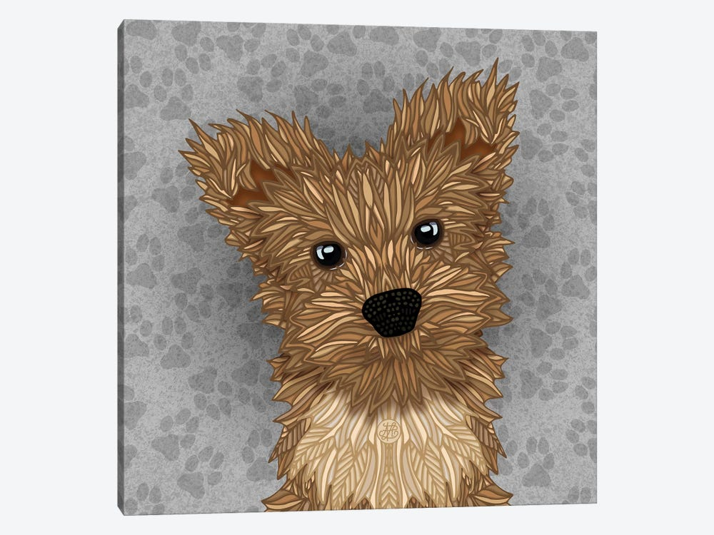 Huie Yorkie by Angelika Parker 1-piece Canvas Art Print