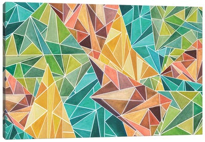 Fall Into Triangles Canvas Print #ANG27