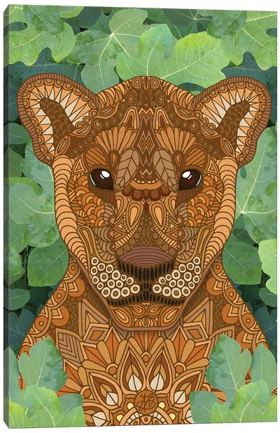Lioness Queen Canvas Art Print