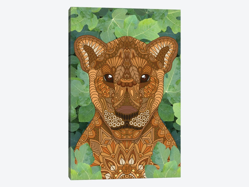Lioness Queen by Angelika Parker 1-piece Canvas Artwork