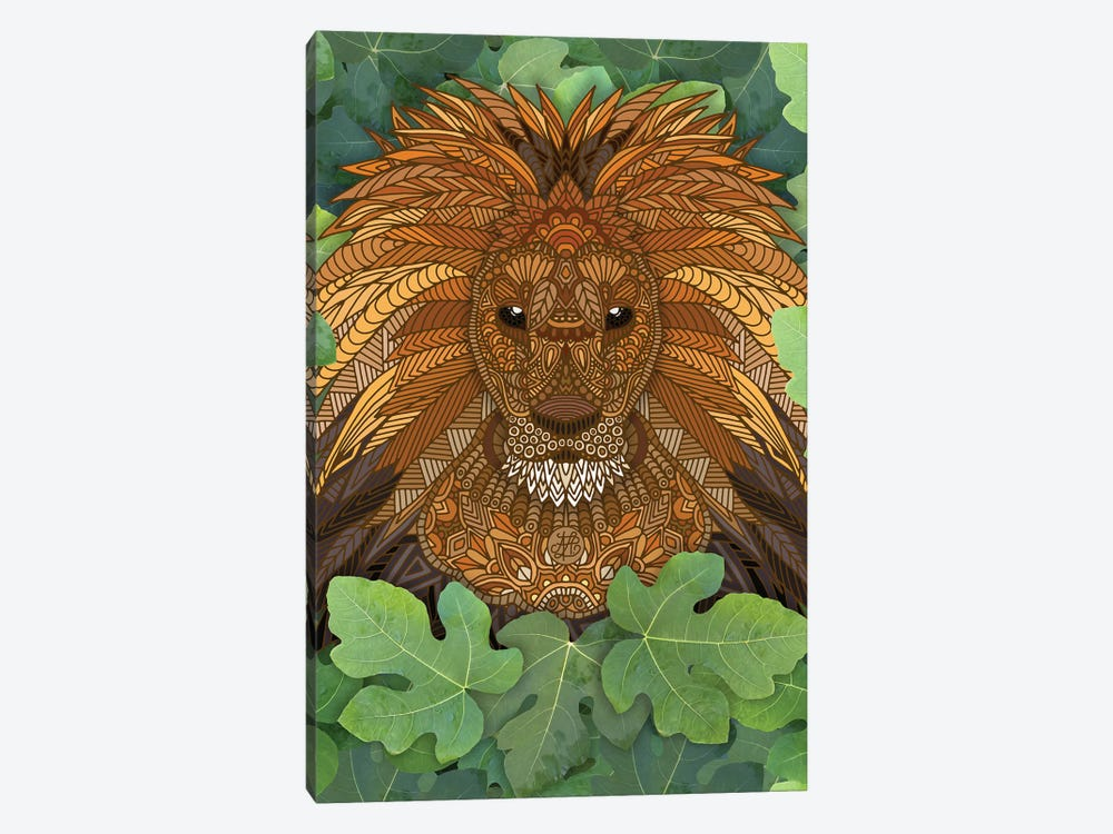 Lion King of the Jungle by Angelika Parker 1-piece Art Print