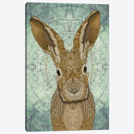 Ornate Bunny Canvas Print #ANG283} by Angelika Parker Canvas Wall Art