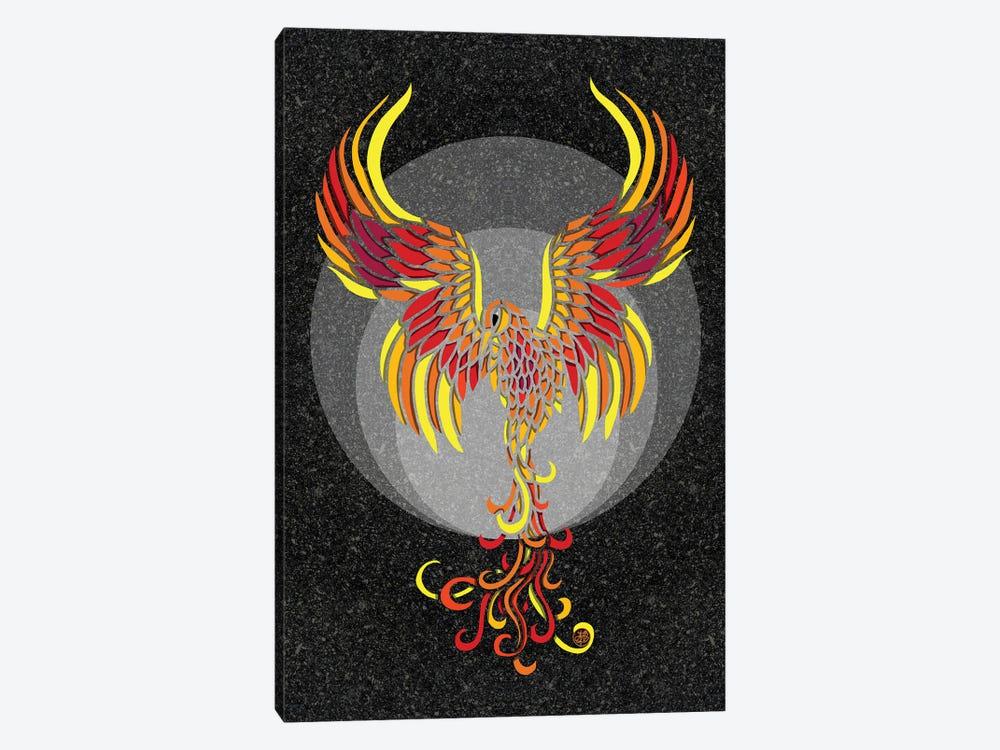 Fire Phoenix by Angelika Parker 1-piece Art Print