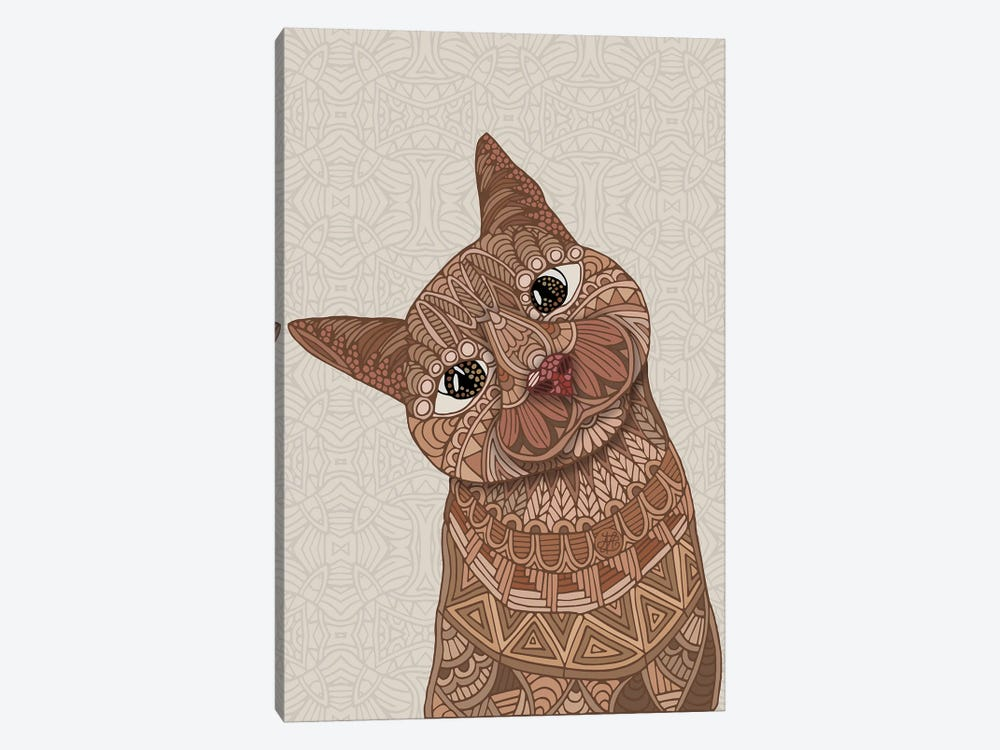 Hello Beautiful Cat by Angelika Parker 1-piece Canvas Wall Art