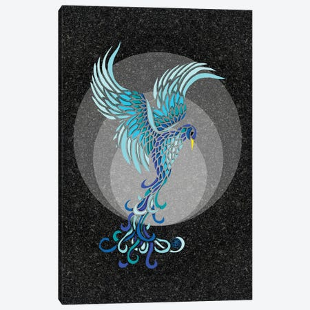 Water Phoenix Canvas Print #ANG289} by Angelika Parker Canvas Art