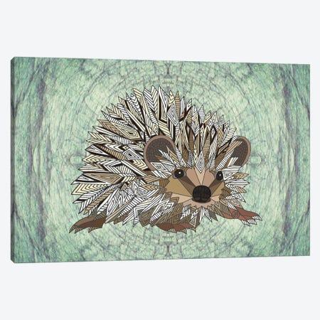 Woodland Hedgehog Canvas Print #ANG293} by Angelika Parker Art Print